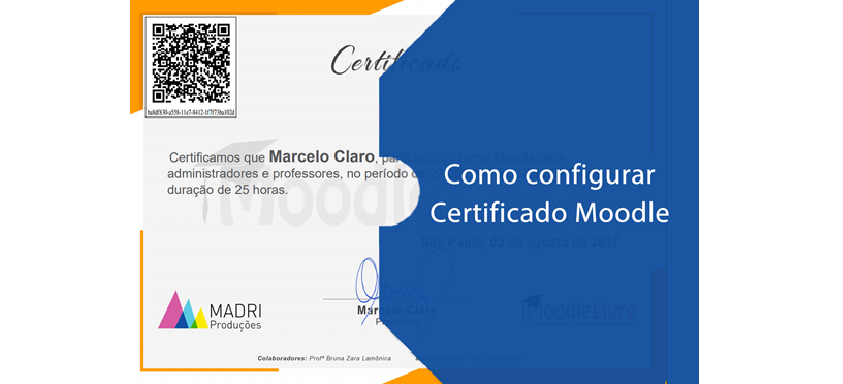 [Vídeo] Certificado no Moodle