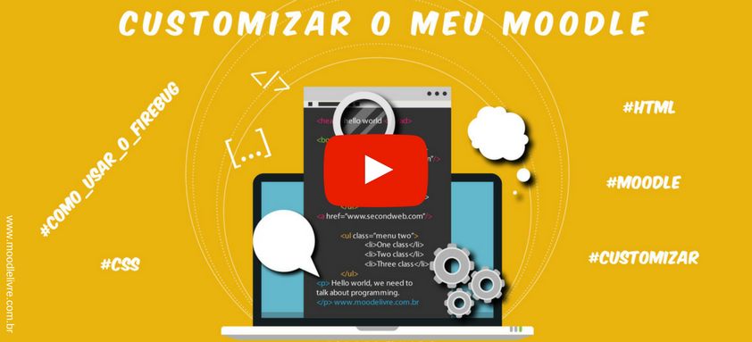 customizar moodle play