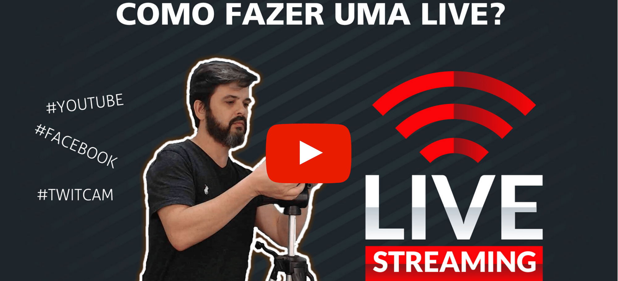 como fazer aula no youtube play