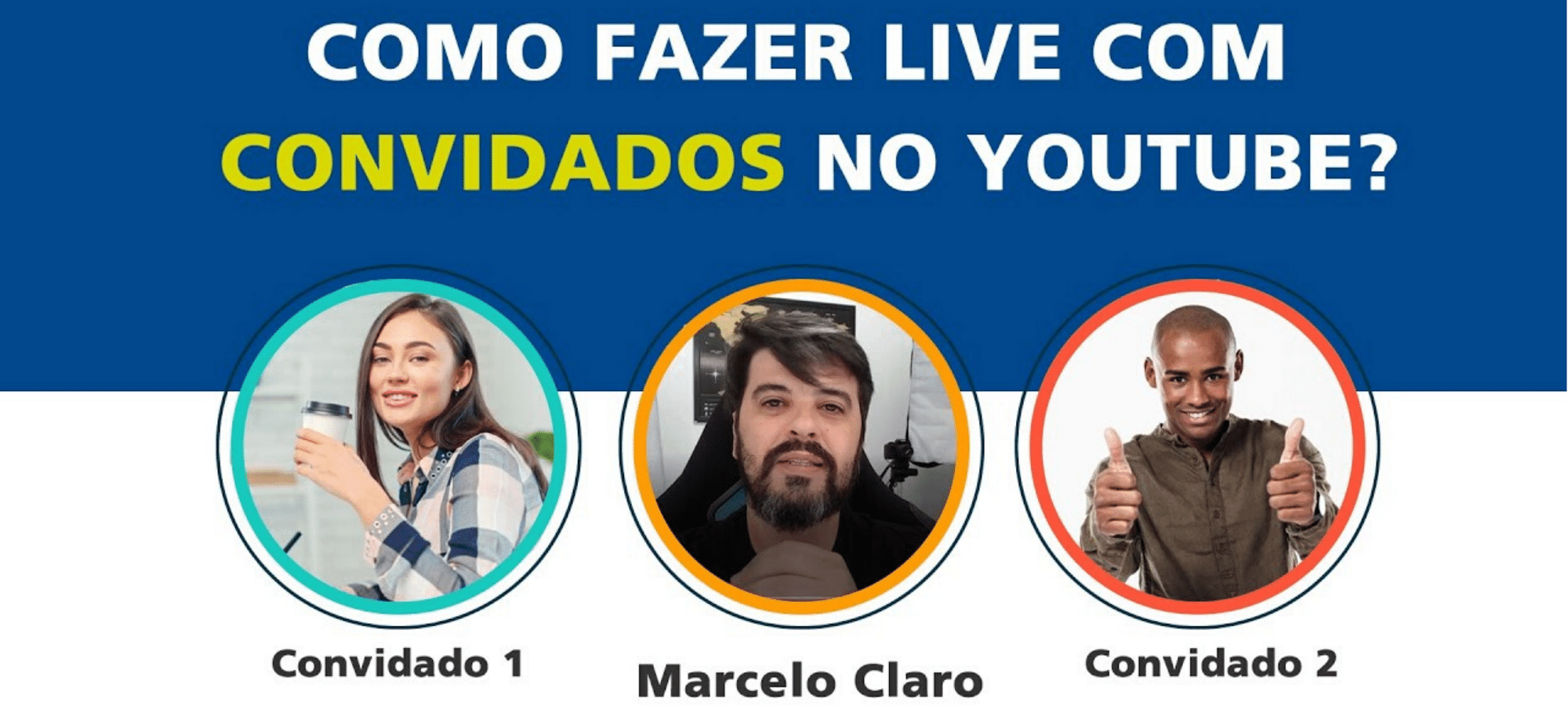 Live com convidados no Youtube – OBS